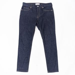 Everlane Dark Rinse Skinny Jeans 33 x 30 High Rise